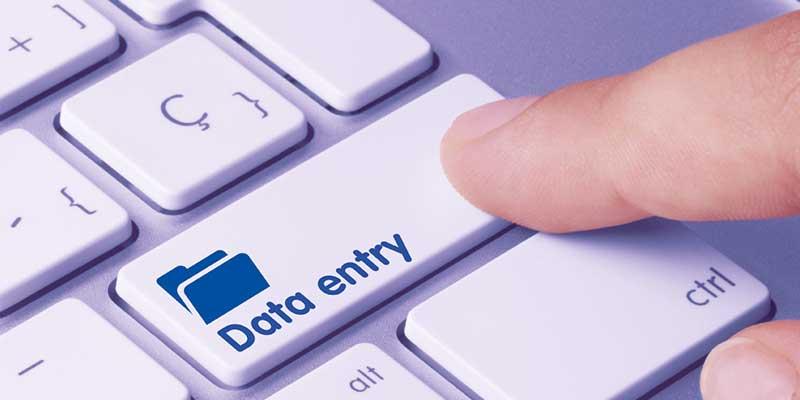 دیتا اینتری، ورود اطلاعات در سایت و فضای مجازی